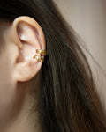Layer your ear cuffs for a chic and stylish look @thehexad