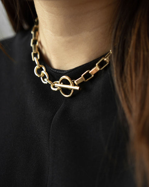 BOLD PARALLEL Chain Choker