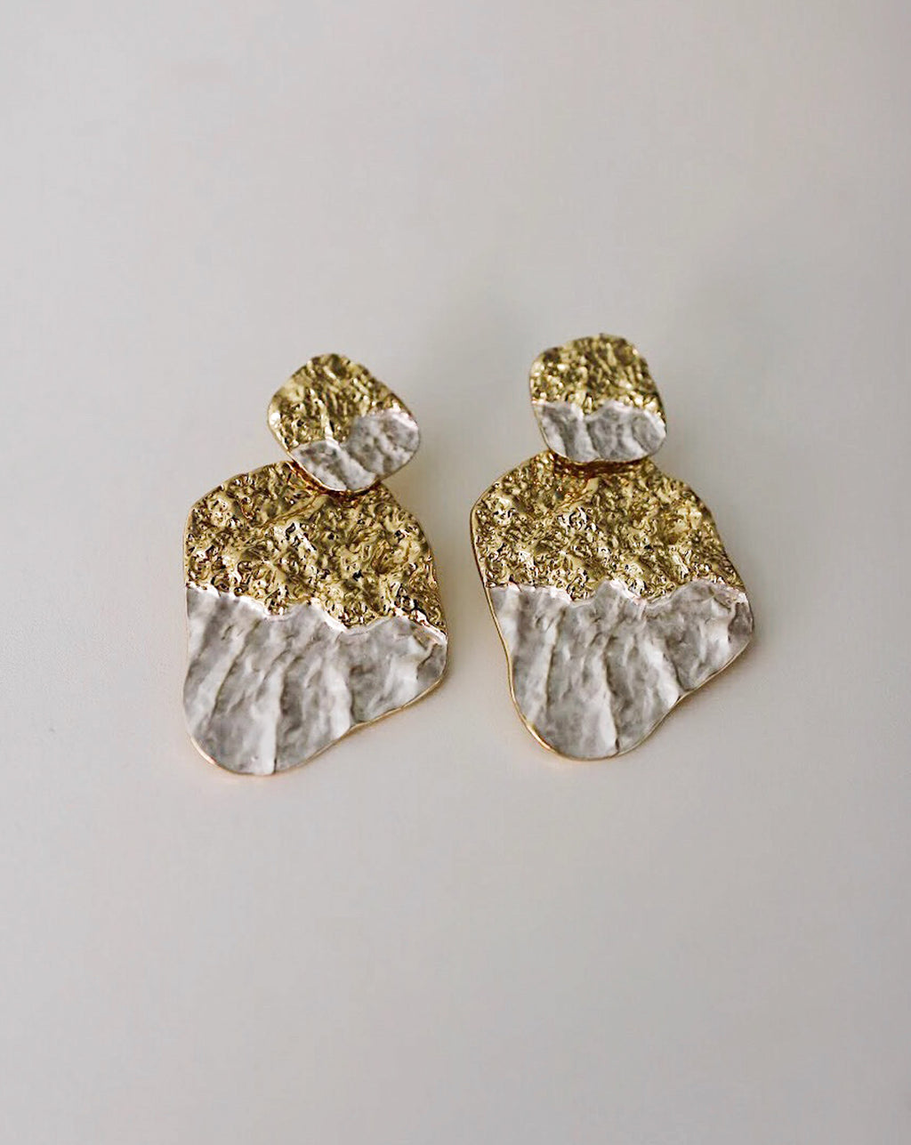 MIDAS Oblong Earrings - The Hexad