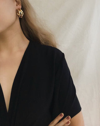 Make a bold statement with these vintage-inspired trio hoops - TheHexad