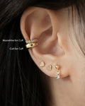 Moonshine and Cult Ear Cuff by Thehexad