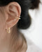 No piercings required - the Emi beaded ear cuffs are specially designed for pierceless ears by @thehexad