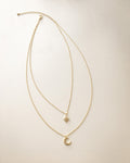 POLARIS double layer necklace by The Hexad Jewellery