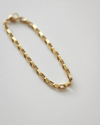 Parallel Bracelet in Gold by The Hexad Jewelry