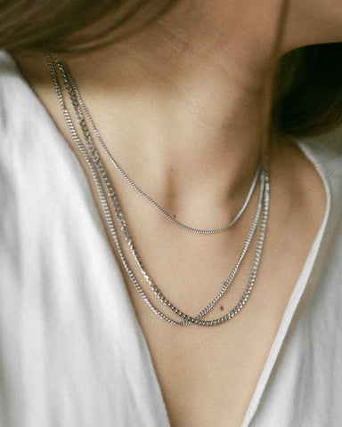 BASIC Chain in Silver