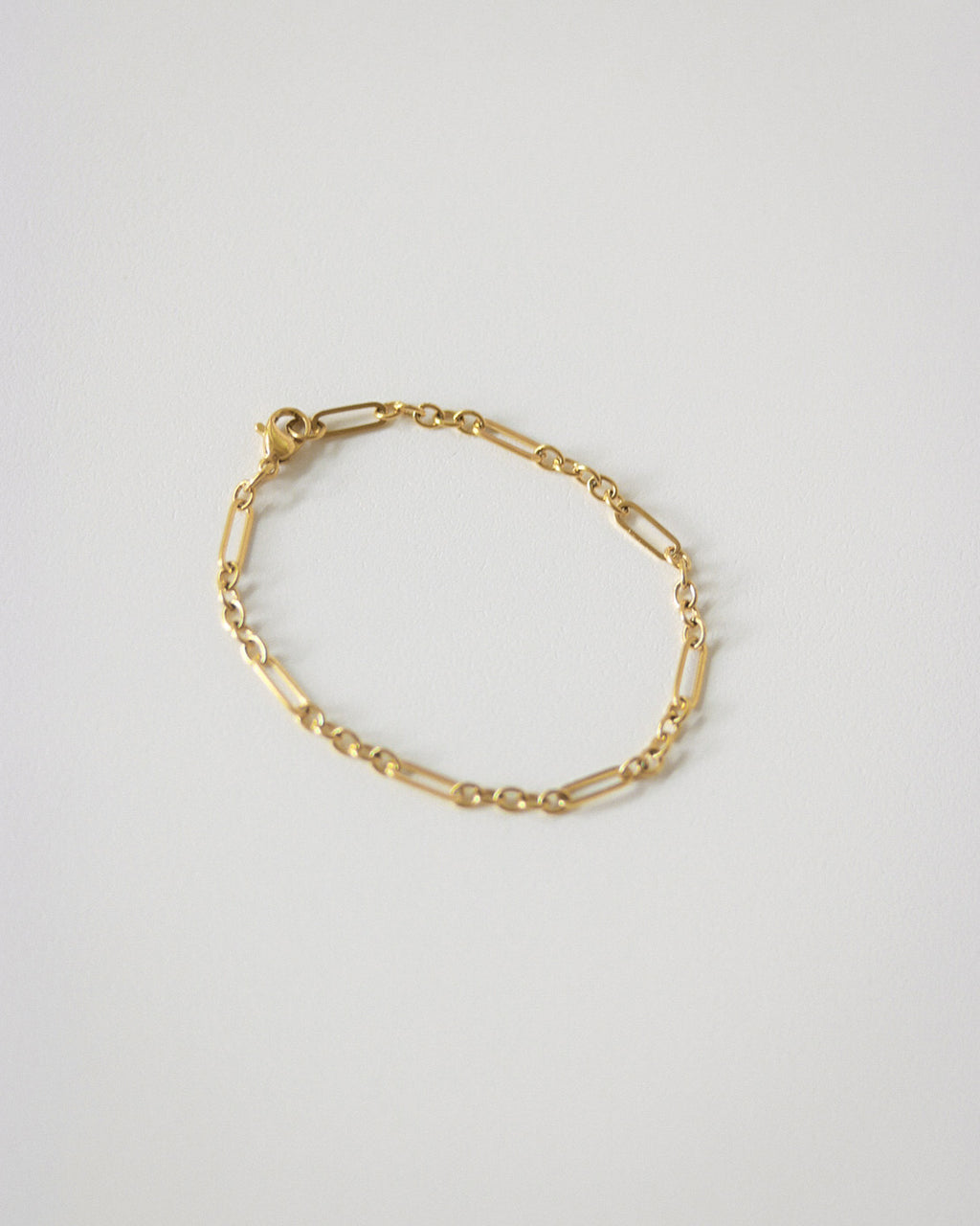 Radical Chain Bracelet in Gold by The Hexad