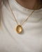 Reversible bold chunky pendant necklace | Gaia by The Hexad