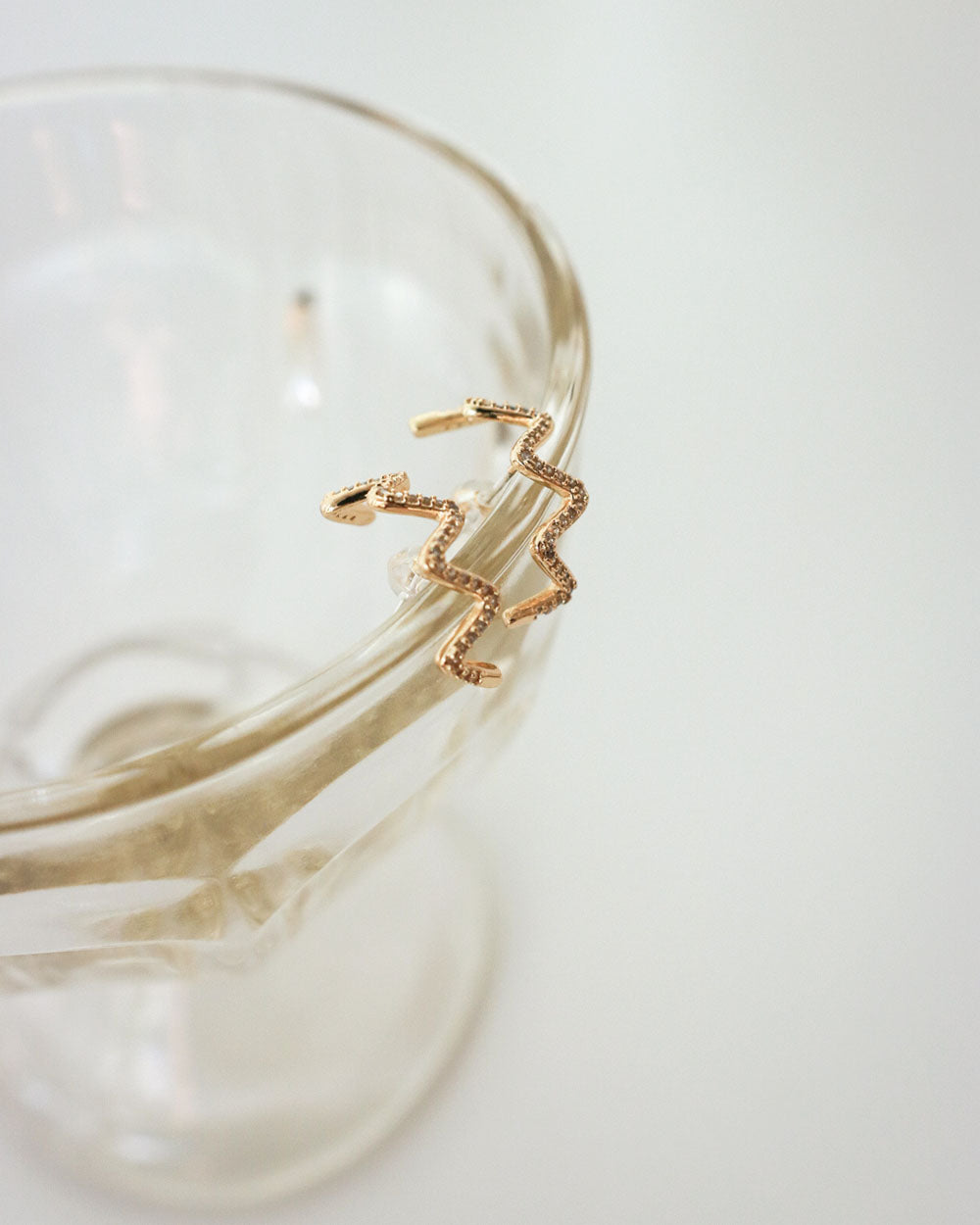 Serpent Suspender Earrings by The Hexad
