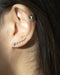 Sophisticated ear climbers with ascending diamante sizes along your ear lobes @thehexad