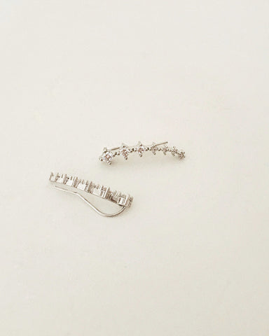 Sparkly chic diamantes ear climbers @thehexad