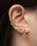 Stellar ear cuffs for a constellation inspired stack
