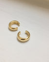 Thick ear cuffs in gold @thehexad