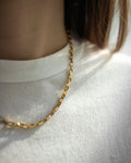 Vintage boyfriend chain link necklace - The Hexad