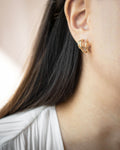 Wear three hoops in one ear with just one piercing - Baby Trio Hoops by TheHexad