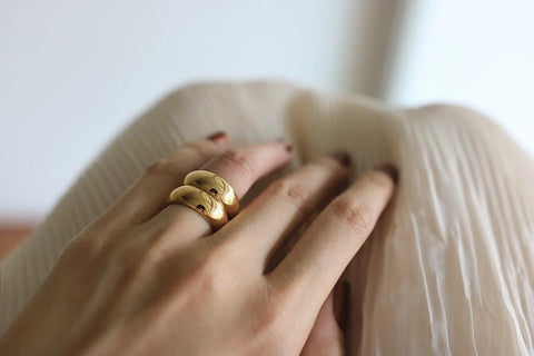 beautiful Affirmation Rings by The Hexad