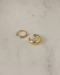 bestseller cult and moonshine ear cuffs in gold by the hexad modern accessories label for women