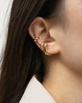 build your dream ear stack with the latest gold ear cuffs from @thehexad