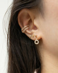 curation of the bestselling gold and diamonds earrings from @thehexad