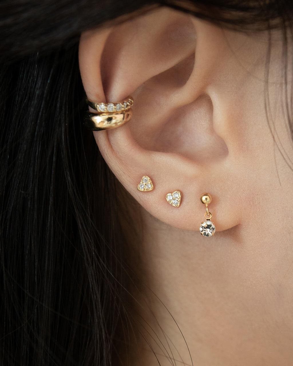 delicate stud earrings for modern minimalist jewellery lovers