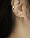 fine delicate earrings for women with multiple ear piercings