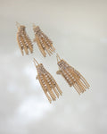 gatsby tassel earrings with fringe bling @thehexad