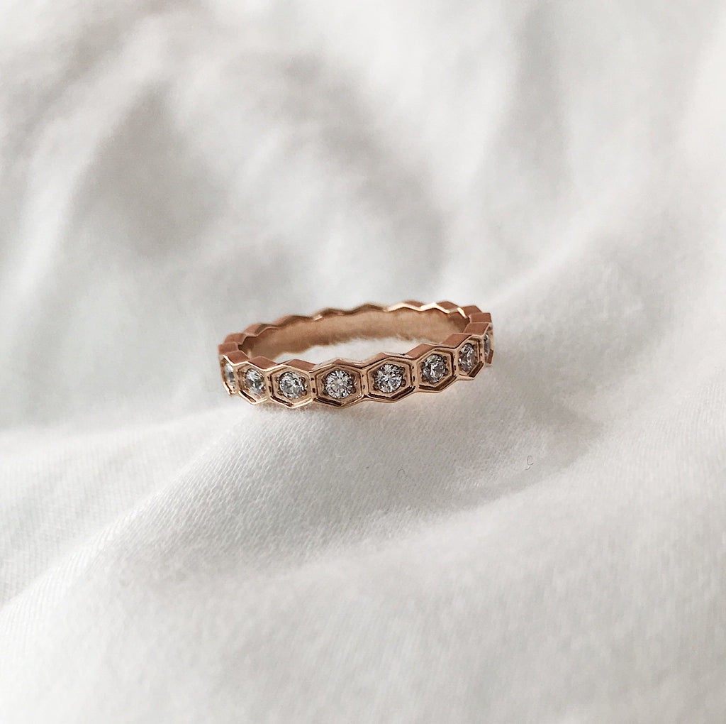 BIJOU Infinity Diamanté Band - The Hexad Jewelry
