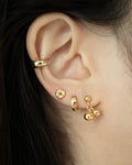 how to curate a creative ear party with micro ear studs by the hexad