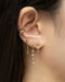 how to layer drop earrings in a stunning ear stack for lobes with multiple piercings