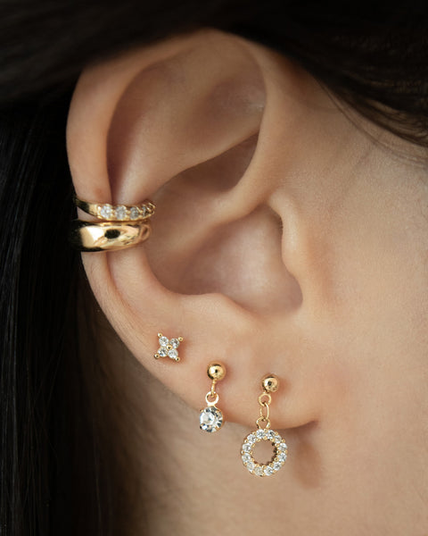 how to wear multiple earrings if you have more than one ear piercing