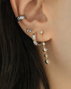 multiple ways to style your piercings with the original earring designs from the hexad