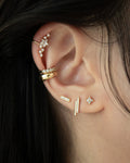 shop micro ear studs and unique ear cuffs from the hexad