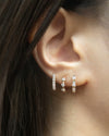 stylish and classic huggie hoop earrings for all seasons from accessories brand the hexad