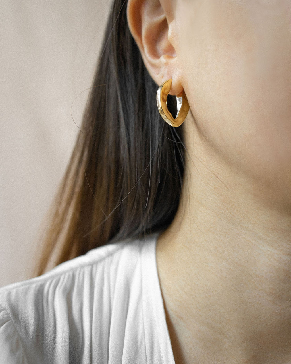 BRONX Hammered Hoops
