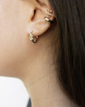 the most creative single piercing ear stack ideas by the hexad