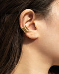 trendy gold ear cuffs look that are an instant hit among milennials