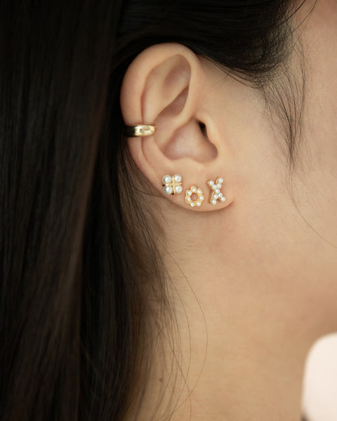 unique curated ear stack by modern accessories online store the hexad
