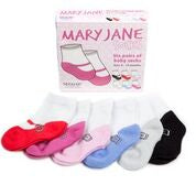 Baby Socks | Mary Jane 6 pack