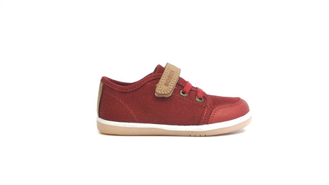 Canvas Casual Trainer | Pompei-Caramel