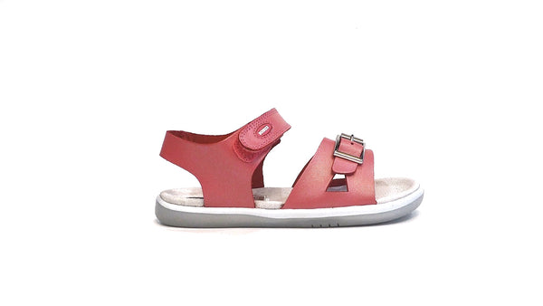 Girls Simple Sandal | Coral