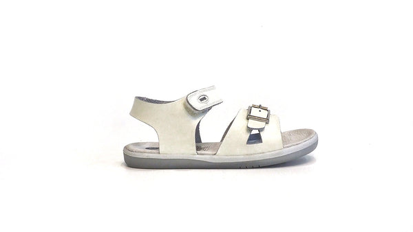Girls Simple Sandal | White