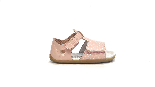 Open Sandal | Shell with White Spots