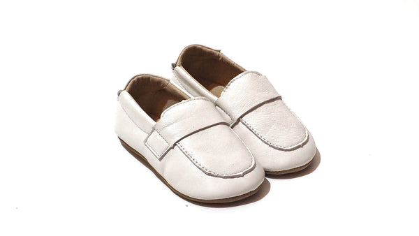 Pre-walker Loafers | White