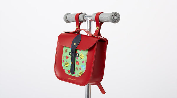 Rocket Scooter Satchel | Garden