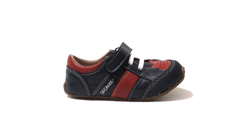 Trainers | Navy/Red