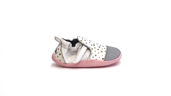 Xplorer | White with Gold Dots
