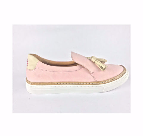 Shokunin Shoes - Tassel Loafers - Dusty Pink