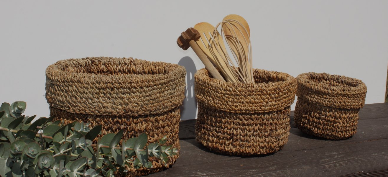 TerraKlay is a woman and minority owned business that works with woman artisans in India to bring socially conscious home goods and decor in natural fiber planters and storage baskets, textiles, and pottery for your home.
