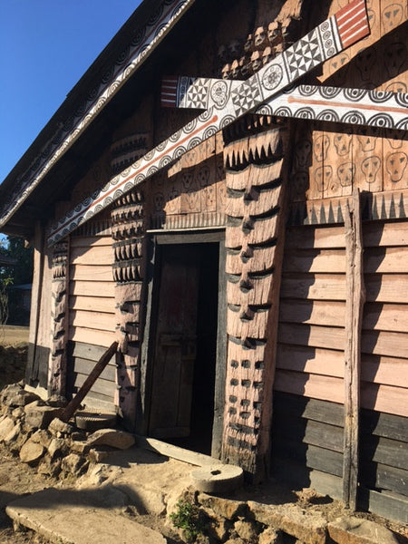 A tribal village in a remote place in Manipur,India