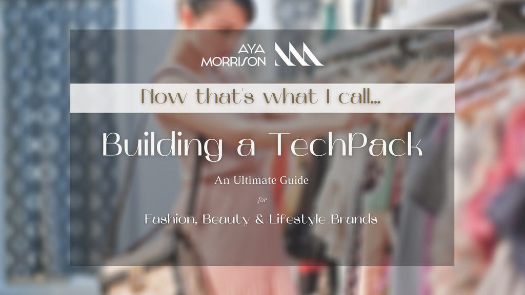 BUILDING A TECHPACK E-BOOK & TEMPLATE (NOW THATS WHAT I CALL series) shopayamorrison