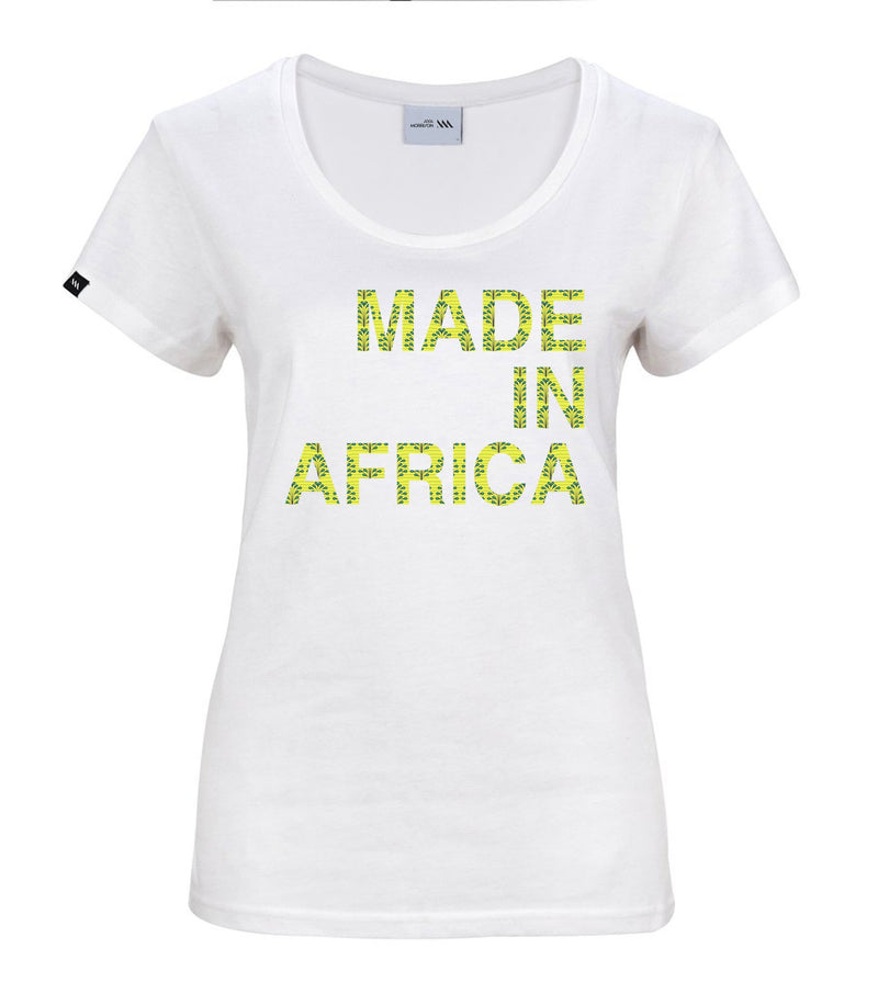 'MADE IN AFRICA' Tee Shirt ayamorrison
